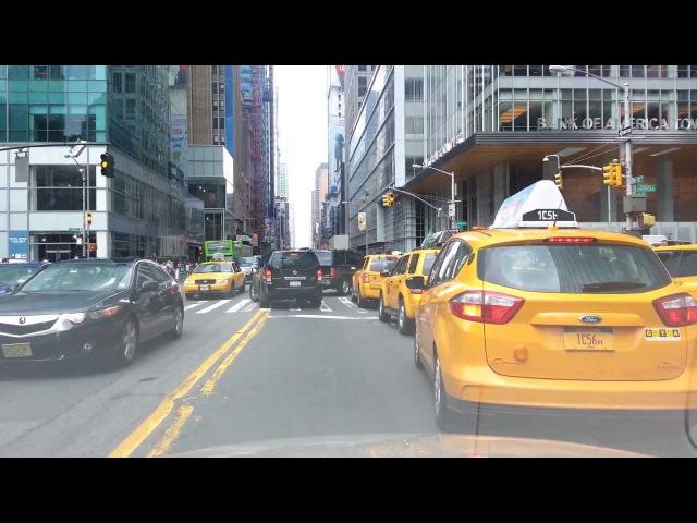 Рассказы о Нью-Йорке. Из центра Манхэттена в Бруклин на автомобиле. From Manhattan to Brooklyn.