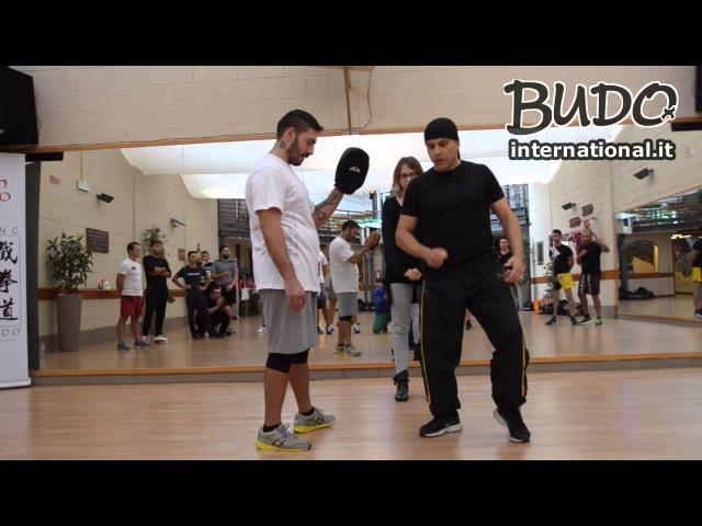 Sifu Joaquin Marcelo - Tecniche di JKD con lallievo di Ted Wong - Budo International