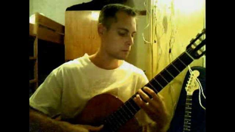 Мой ласковый и нежный зверь на гитаре | композитор Евгений Дога.