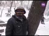 22 января 2014. Киев, Грушевского. Шахта Засядько, вставай! Донецких здесь больше тысячи!