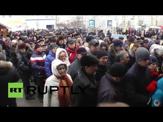 Russia: Hundreds mourn victims of Bamako hotel attack