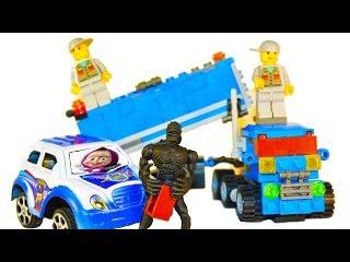 ЛЕГО Конструктор ГРУЗОВИЧОК.LEGO.Маша и Медведь.Полицейская машина.Человек паук.SpiderMan.Настя Шоу