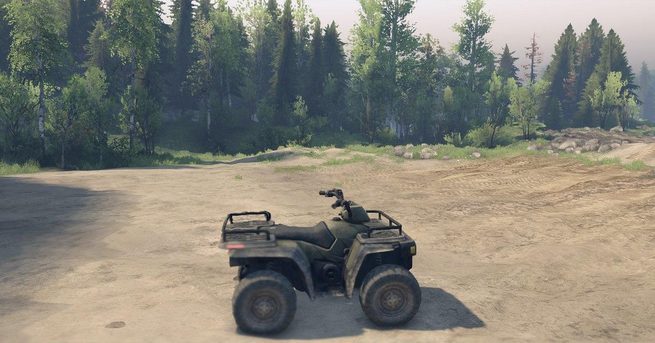 ATV1 из игры Medal of Honor 2010 для 13.04.15 для Spintires - Скриншот 2