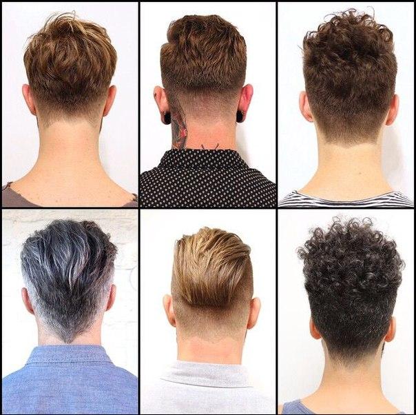 фото причёски сзади