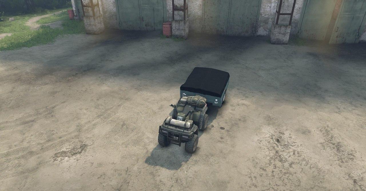 ATV1 из игры Medal of Honor 2010 для 13.04.15 для Spintires - Скриншот 1