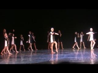 В игре, образцовый коллектив современной хореографии Акварели, Зеленоград. Постановщик: Ольга Тимошенко