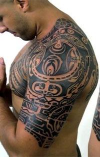 Фото каталог мужских татуировок 41