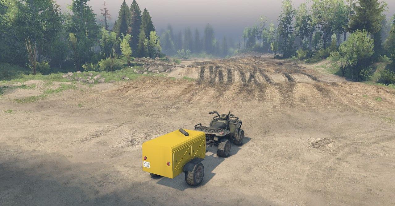 ATV1 из игры Medal of Honor 2010 для 13.04.15 для Spintires - Скриншот 3