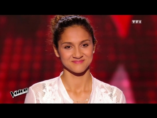 2016.02.20 Blind Audition-4 : Lisa Mary ≪ Paris Seychelles ≫(Julien Dore)