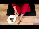 Елена Тарасова - как плести индийские колокольчики для стиля катхак