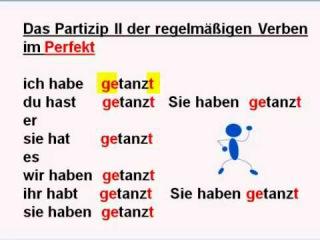 Видео perfekt und pr228teritum teil 3
