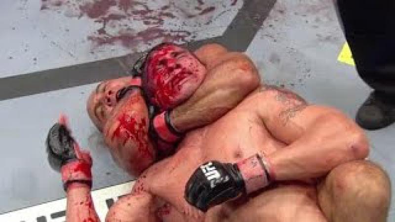 Кровавый бой Би Джей Пенн vs Джо Стивенсон Мясорубка