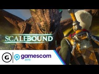 Scalebound Dragons & Combat Stage Demo - Gamescom 2015