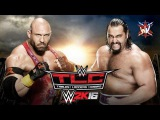 WWE 2K16. Ryback vs Rusev (WWE TLC 2015)