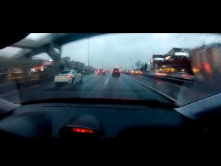 Шашки в дожде / Street Race [Audi TT]