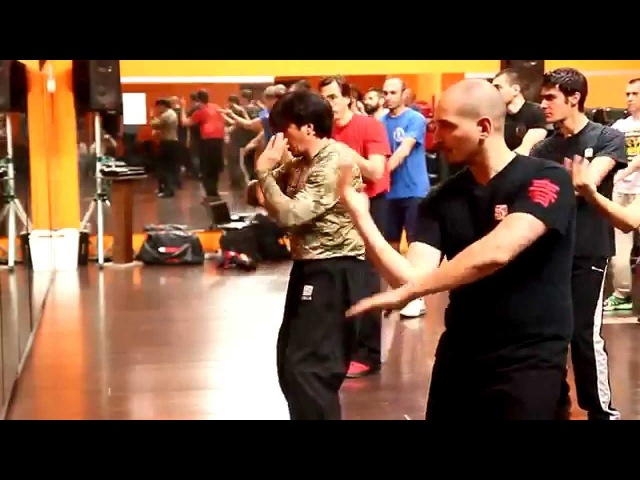 Sifu Randy Williams seminar Bari 2014 CRCA Wing Chun
