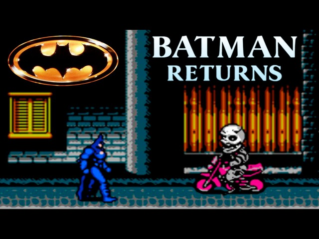 Batman прохождение (walkthrough) Batman Returns (NES, Famicom, Dendy)