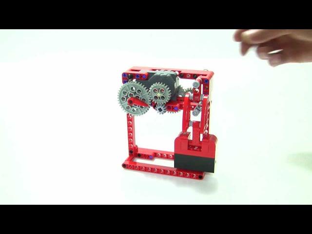 Tick tack sound generator LEGO Technic