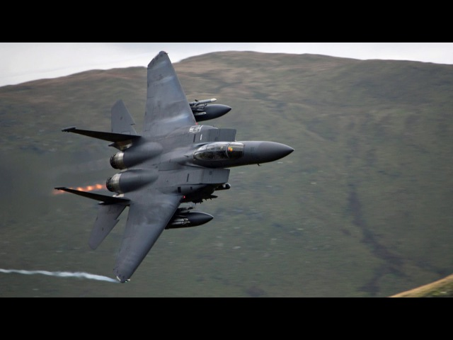 🇺🇸 🇬🇧 The Awesome CAD WEST Low Flying Jet Site In Wales Mach Loop.