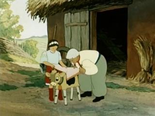 Соломенный бычок (1954,мультфильм,СССР,12+) Лицензия / HD720