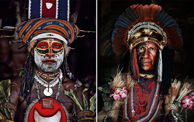 HrXrJAAnHQg - Шокирующие фото исчезающих племен