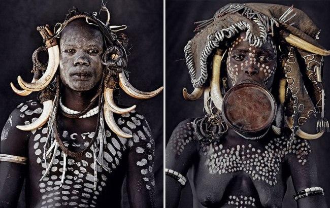 GmO8dP3uGDQ - Шокирующие фото исчезающих племен