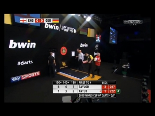 England vs Germany (PDC World Cup of Darts 2015 / Quarter Final)