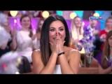 Виталий Гогунский с дочкой в шоу Один а один