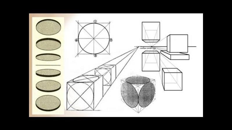 Основы ПЕРСПЕКТИВЫ в Рисунке Карандашом Учимся Рисовать КАРАНДАШОМ