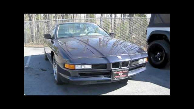1995 BMW 840CI Start Up, Exhaust, and In Depth Tour