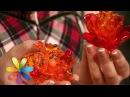 Делаем брошку цветок из пластиковых ложек Все буде добре Выпуск 603 20 05 15