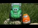 Мультики про машинки: Чак и его друзья! Идём гулять! Игры на улице. Детям про цветы
