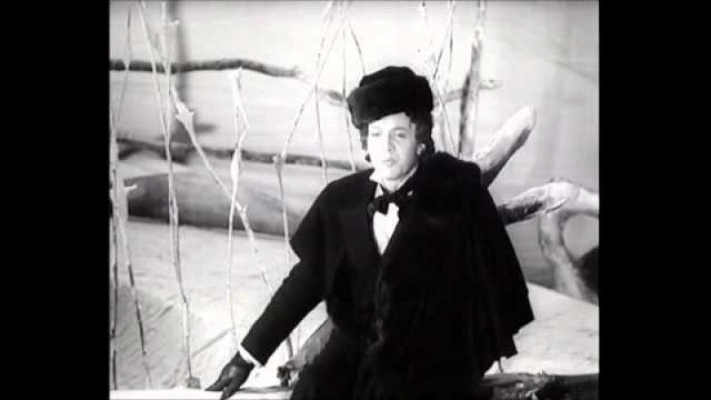 Sergey Lemeshev - Lensky aria duel (Eugene Onegin) Лемешев - Сцена дуэли