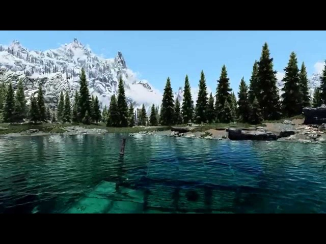 Skyrim Mods 2015 Graphics Natural Lighting Atmospherics ENB