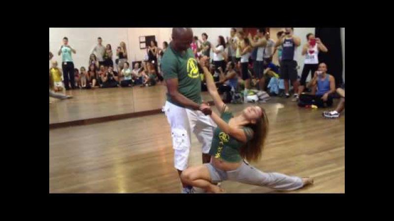 Improviso de Gilson Damasco e Natasha Terekhina no IV Congresso Internacional de Zouk do Rio