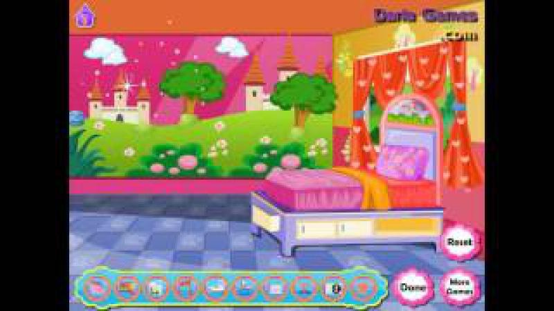 NEW мультик онлайн для девочек—Даша декор комнаты—Игры для детей