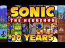 Sonic the Hedgehog Speeding Through 20 Years of History