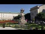 Зальцбург Австрия. Дворец Мирабель.