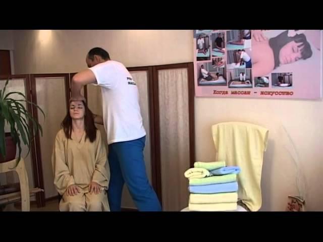 Бирманский массаж головы Экспресс антистрес