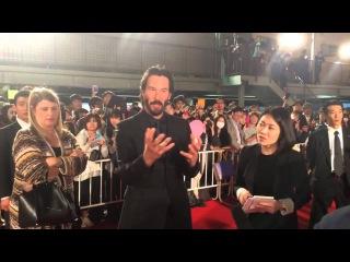 Keanu Reeves premier John Wick Japan