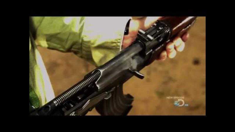 замедленная съемка АК-47 (40 000 к/сек) . впечатляет