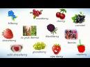 Ягоды на английском Учим названия ягод на английском