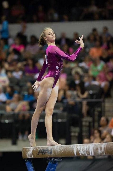 американские девочки фото гимнастки