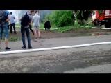 Пожар на Московском тракте, горит жилой дом!!!