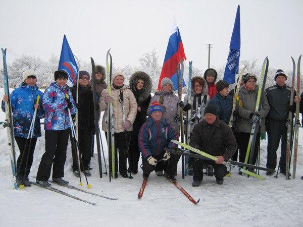 Лыжные гонки для представителей «Старшего поколения» в Красноармейске