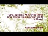 12. Aqlli qiz va jasur yigit hikoyasi - Xayrulla Hamid_ uzbek - 240P