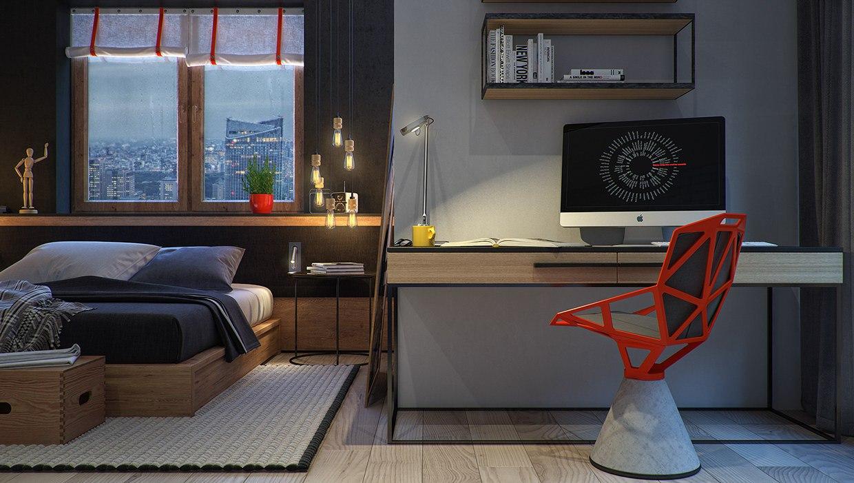 8 креативных спален  (44 фото)