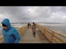 Сильный шторм на Балтийском море в Зеленоградске (январь 2015)