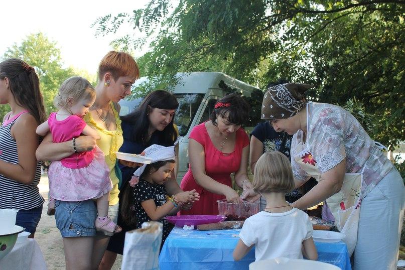 Вареники на Купальський пікнік