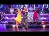 Peter Andre &amp Janette Manrara Jive to 'River Deep Mountain High' - Strictly Come Dancing 2015